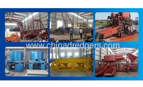 4000 m3/h Cutter Suction Dredge