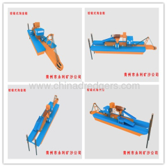 cutter suction dredger for iron ore