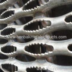 Perforated metal skid plate /safety tread