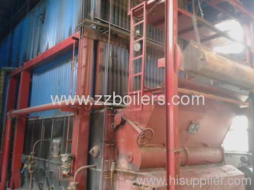 horizontal SZL Series Biomass Boilers