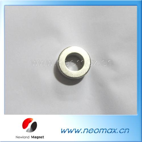 Neodymium permanent magnet ring