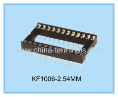 China ic socket ic socket Fabrikant Factory toonhoogte 2.54mm