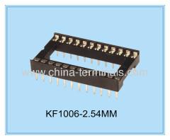 中国では、CE / ROHS 18ピン2.54ミリメートルDIP ICソケットはんだ付けタイプアダプタ