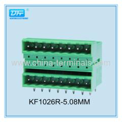 Plug-in borniers et accessoires Chine Terminal block bornier femelle du plug-in