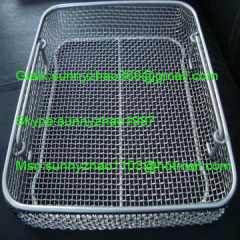 stainless steel cleaning basket