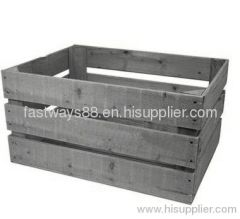 cheap rustic wooden crate