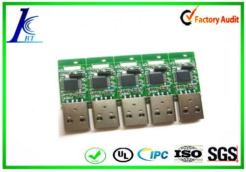 E-testing circuit board USB charge board with assembly