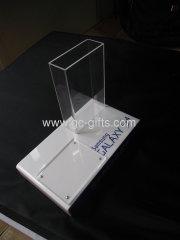 Samsung smartphone acrylic leaflets dispenser