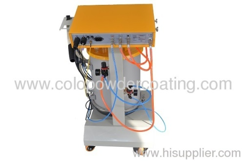 line painting equipment coat powder coating gun