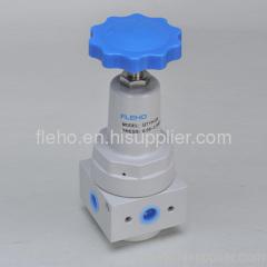 High-pressure air source treatment unit
