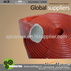 Silicon Coated Fiberglass Sleeving