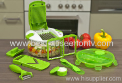 Salat Chef smart GENIUS FRUIT CHOP AND SLICER AS SEEN ON TV