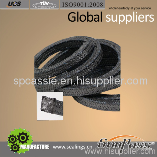 Carbonized Packing with Inconel Wire