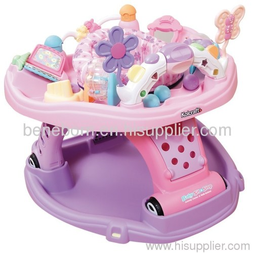 Baby Sit & Step 2-in-1 Activity Center