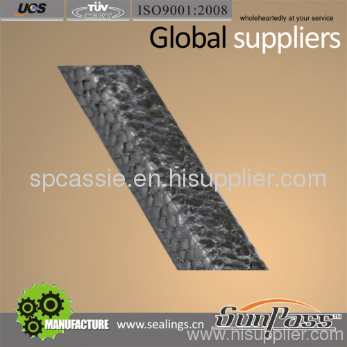 High Carbon Packing Withe PTFE Impregnated & Coated Graphite