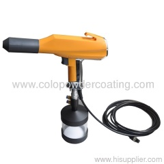 portable powder coating gun