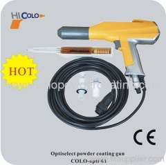 optiselect manual powder gun