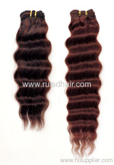 100% Brazilian hair clip in hair extension Curly