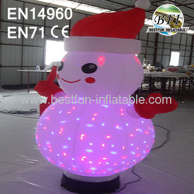 Led Inflatable Light Snowman