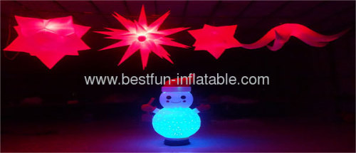 Inflatable Snowman Christmas Decoration