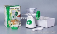 Super Micer kitchen helper food mincer super mincer as seen