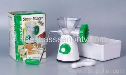 Super Micer kitchen helper food mincer super mincer as seen