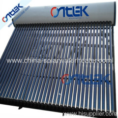 36 tubes high pressure compact solar water heater