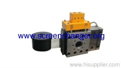 Autoscreenchanger for plastic melt filtration