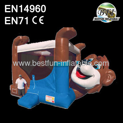 Inflatable Bear Bouncer For Sale