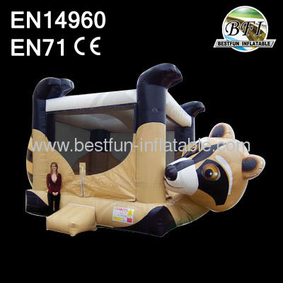 Inflatable Raccoon Belly Bouncer