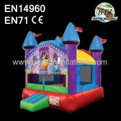 Inflatable Princess Bounce Castle