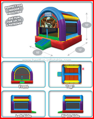 Cheap Mini Inflatable Wacky Arched Bouncer