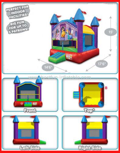 Inflatable Wacky Princess Castle Bouncer