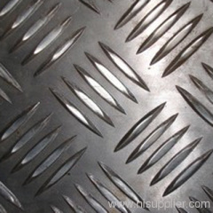 stainless steel safety tread for the floor of walkway