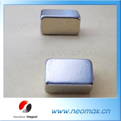 Block permanent neodymium magnet
