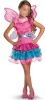 Girls fancy dress costumes,Kids fancy dress wholesale,Children pink dresses with wings PCCC-6001