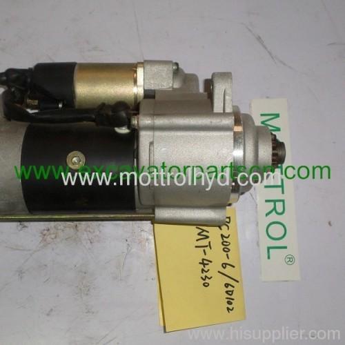 PC200-6 6D102 600-863-4110 starter motor
