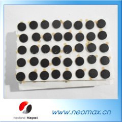 black neodymium magnets with adhesive wholesale