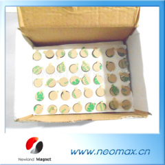 D10x1 neodymium magnets with adhesive for sale