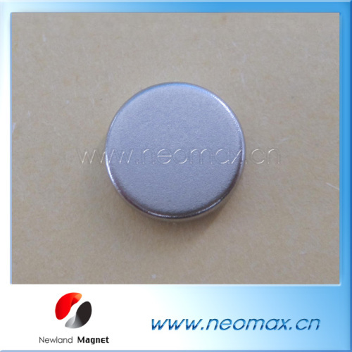 Thin NdFeB Magnet Disc for Clothing