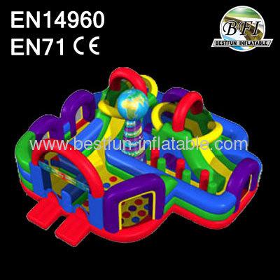 Inflatable Kids Combo Inflatable Wacky World
