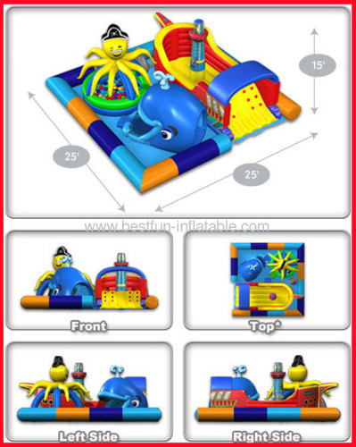 Inflatable Sea Wonderland Play Grand