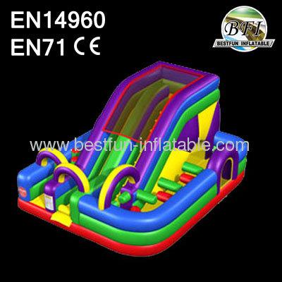 Inflatable Wacky Slide Combo