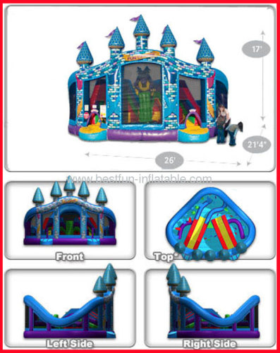 2013 Commercial Inflatable Castle Fun Centre