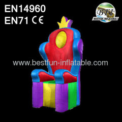 Inflatable Wacky Throne PVC