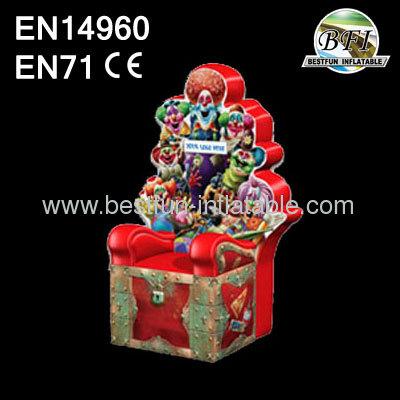 Inflatable Clown Throne Chair