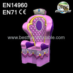 Small Colorful Princess Throne
