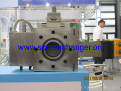 Automatic mesh belt screen changer