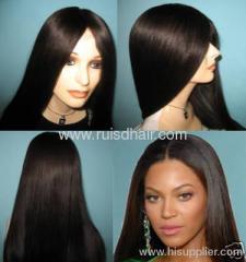 high quality Virgin Brazilian lace wigs