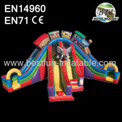 Hot Sale 18' Inflatable Slide
